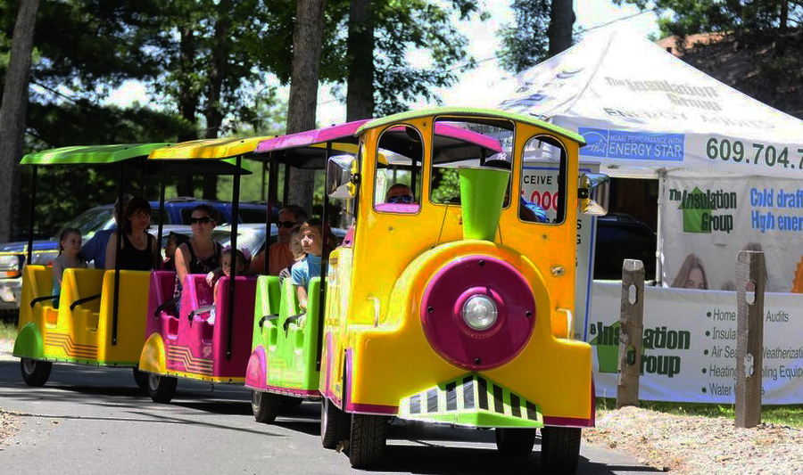Image - Children's Train from the Mays Landing Merchants Association Hometown Celebration